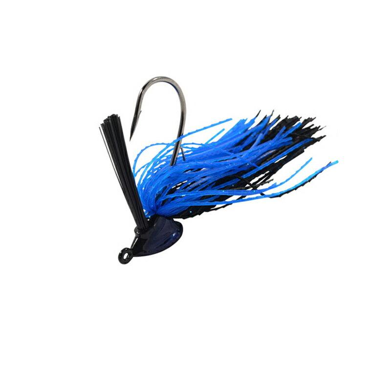 GEECRACK(ジークラック) GERMAN JIG(ジャーマンジグ) 3/8oz #008 ブラック×ブルー【あす楽対応】