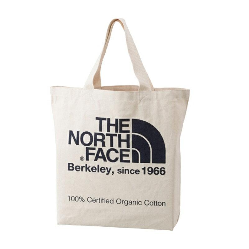 【送料無料】THE NORTH FACE(ザ・ノースフェイス) TNF ORGANIC COTTON TOTE(TNF オーガニック コットン トート) 20L EB(ナチュラル×エステートブルー) NM81616【あす楽対応】【SMTB】