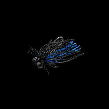 NORIES(ノリーズ) ガンターオーバル 3/8oz 158 トラッドブラックブルー