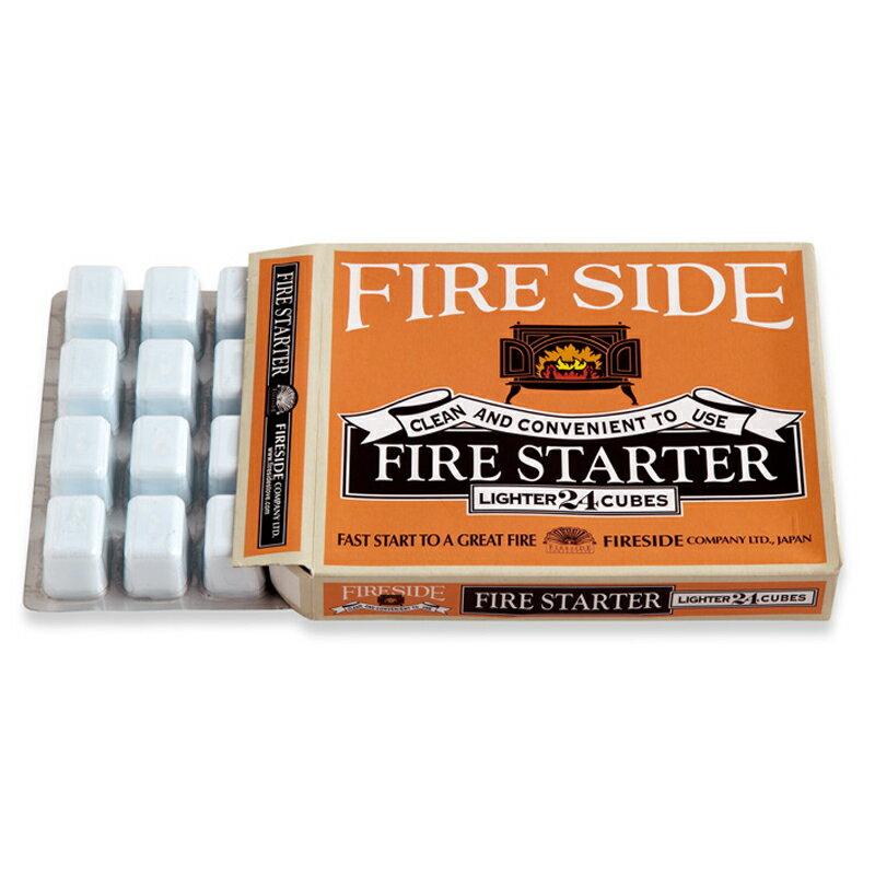 ファイヤーサイド(Fireside) ドラゴン着火剤 1箱24個入り 630540
