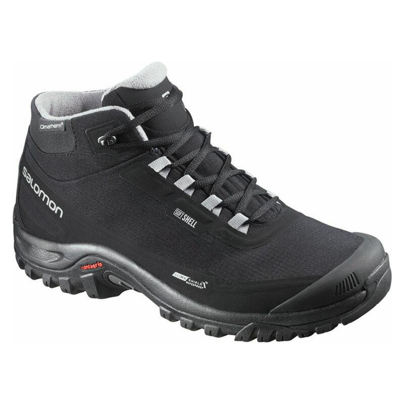 【送料無料】SALOMON(サロモン) FOOTWEAR SHELTER CS WP 27.5cm BLACK×BLACK×PTR L37281100【SMTB】