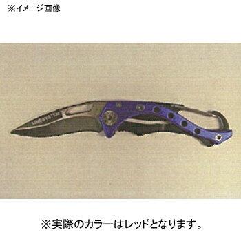 ラインシステム タフ&シャープナイフ ミニ レッド T0803B