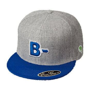 エバーグリーン(EVERGREEN) B−TRUE フラットキャップ タイプB ブルー×グレー