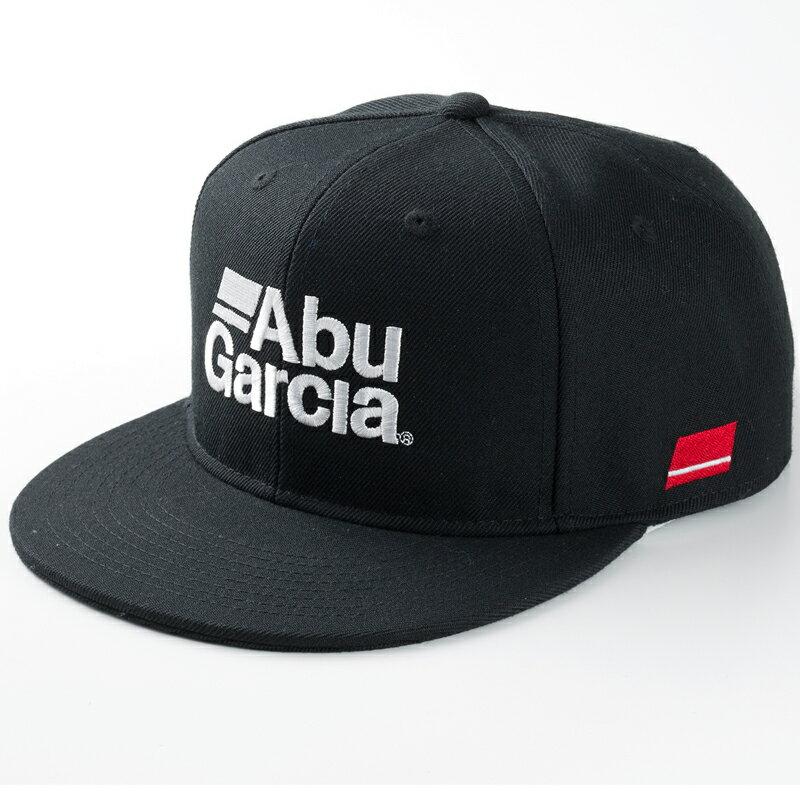 アブガルシア(Abu Garcia) フラットビルキャップ フリー ブラック 1424210【あす楽対応】