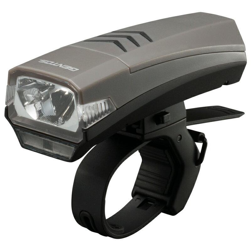 GENTOS(ジェントス) センサー付 充電式 バイクライト シルバー XB-555LR