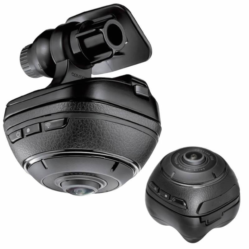 【送料無料】カーメイト(CAR MATE) DC3000 ドライブレコーダー×アクションカメラ ダクション360 BLACK