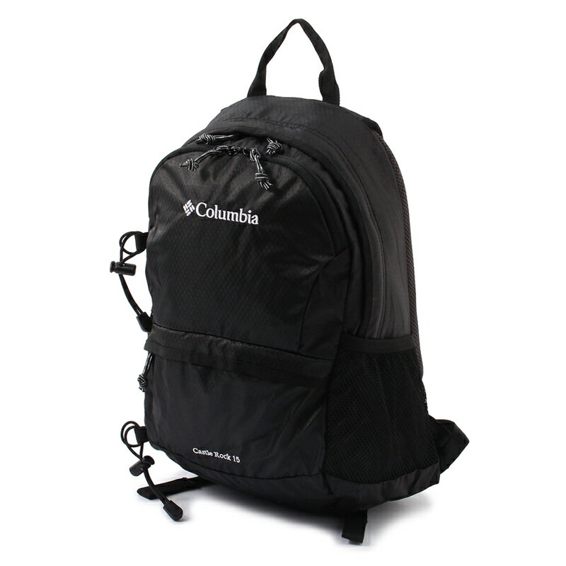 Columbia(コロンビア) Castle Rock 15L Backpack 15L 010(Black×White) PU8036【あす楽対応】
