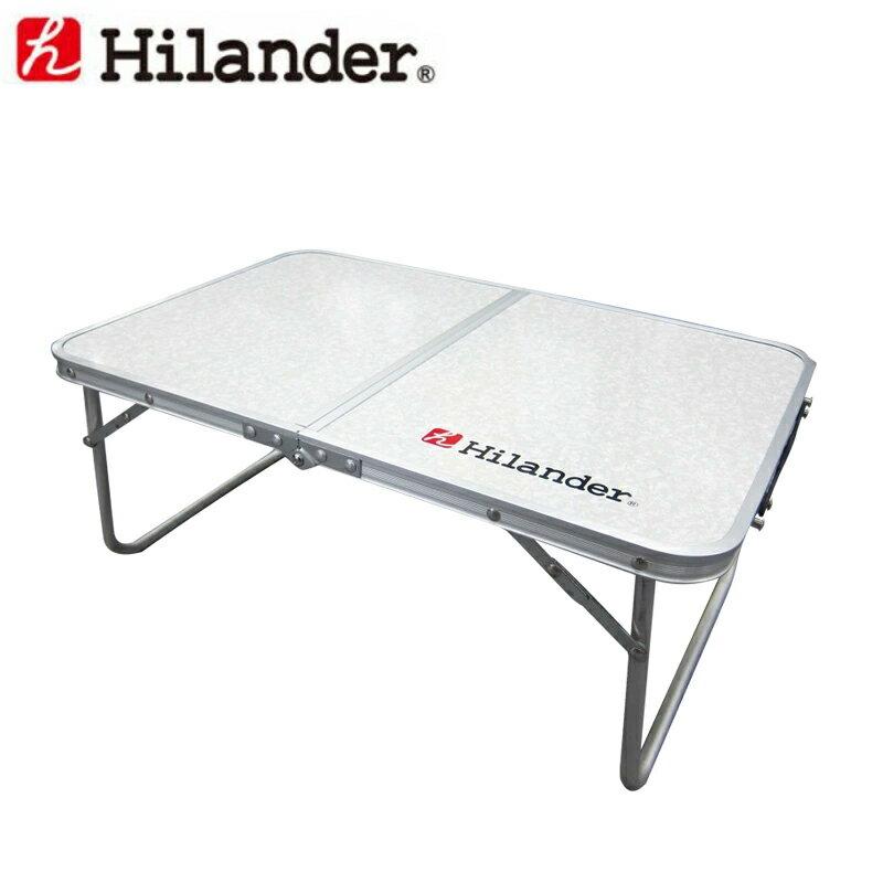Hilander(ハイランダー) アルミ薄型FDテーブル 60×40 UC-528【あす楽対応】