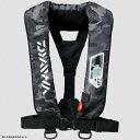 ダイワ(Daiwa) DF−2007 ウォッシャブルライフジャケット(肩掛けタイプ手動・自動膨脹式) フリー ブラックカモ 04595371【あす楽対応】