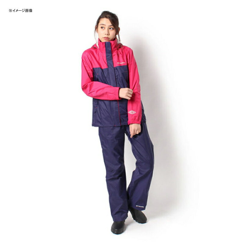 【送料無料】Columbia(コロンビア) Simpson Sanctuary Women's Rainsuit L 600(Bright Rose) PL0125【あす楽対応】【SMTB】