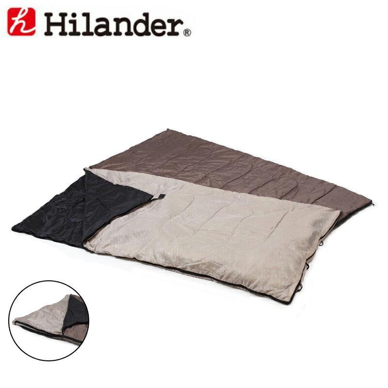 【送料無料】Hilander(ハイランダー) 2in1 洗える3シーズンシュラフ(5度&15度対応) UK-7【あす楽対応】【SMTB】