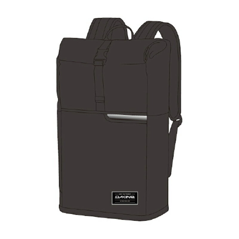 DAKINE(ダカイン) SECTION ROLL TOP WET/DRY 28L BLK AH237022