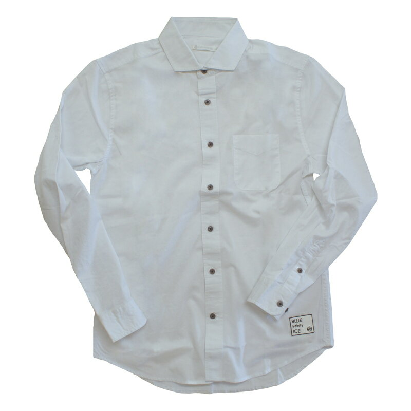 blue infinity ice(ブルーインフィニティアイス) LONG SLEEVE SHIRTS XL 100(WHITE) BIJ99800