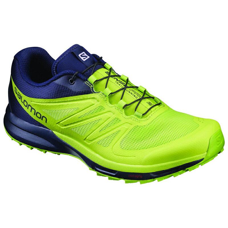 SALOMON(サロモン) FOOTWEAR SENSE PRO 2 27.5cm Navy Blaze×Lime Pun L39250400