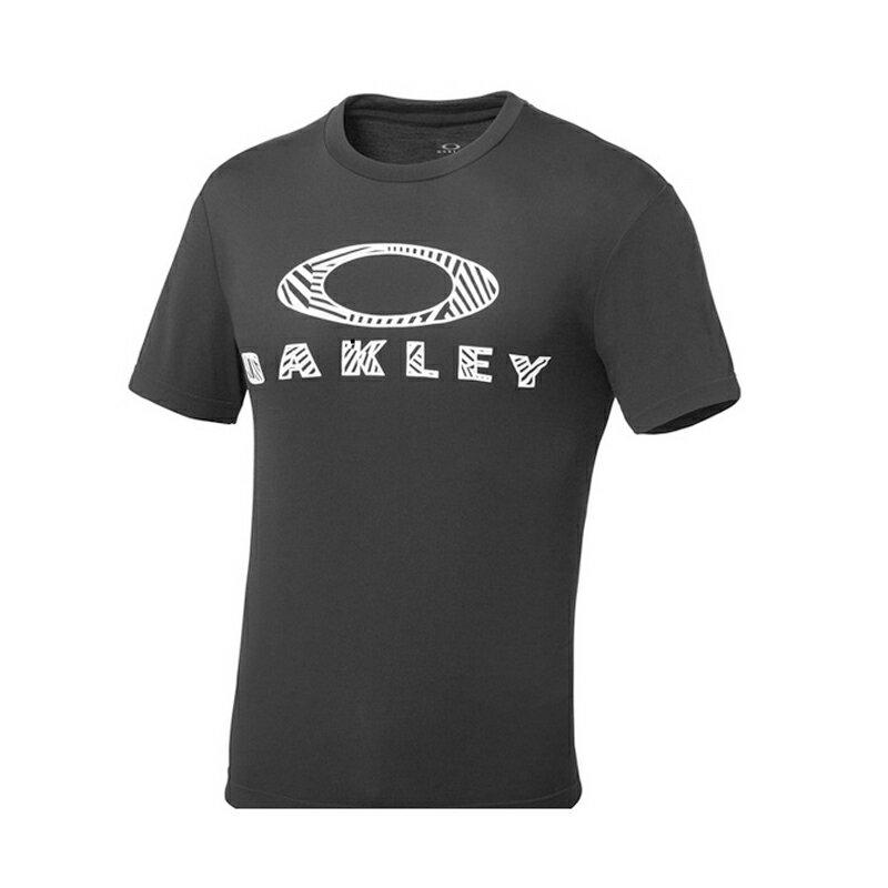 OAKLEY(オークリー) Enhance SS O−FIT Tee.17.01 Men's L 02E(Blackout) 456675JP【あす楽対応】