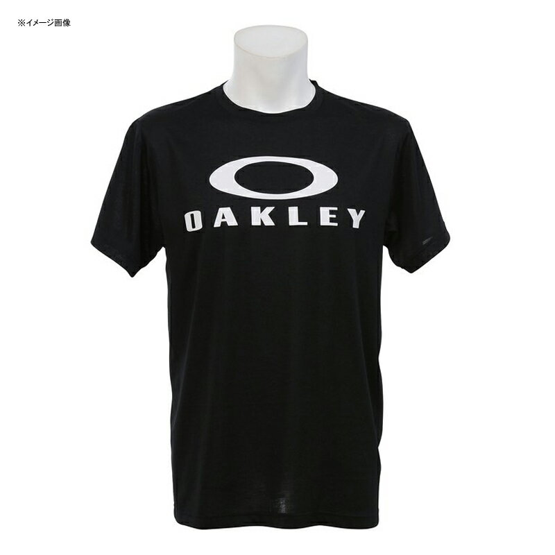 OAKLEY(オークリー) Enhance Technical QD Tee.17.01 Men's L 02E(Blackout) 456677JP【あす楽対応】