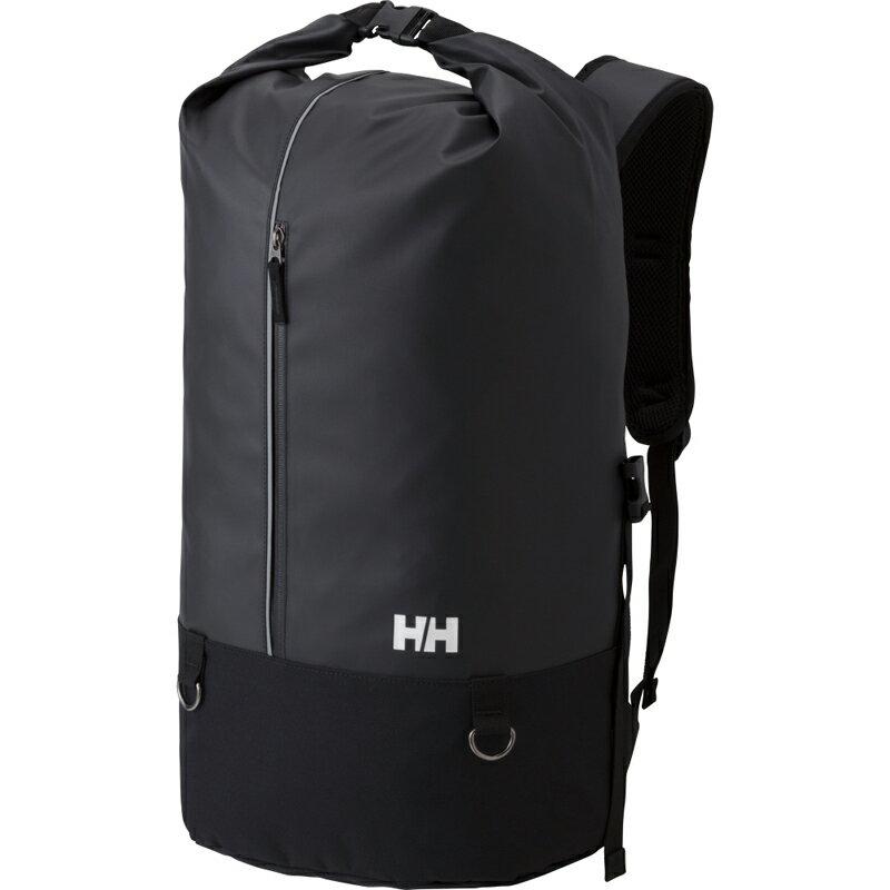 【送料無料】HELLY HANSEN(ヘリーハンセン) HY91721 AKER ROLL PACK 30L K(ブラック)【SMTB】