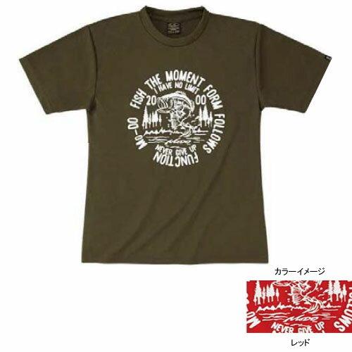 エバーグリーン(EVERGREEN) E.G. ドライTシャツモード Dタイプ XL レッド