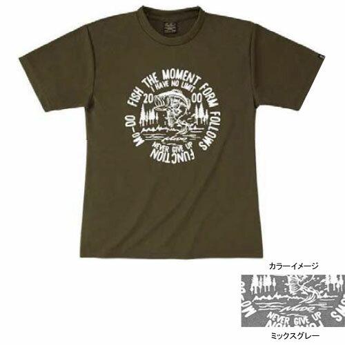 エバーグリーン(EVERGREEN) E.G. ドライTシャツモード Dタイプ XL ミックスグレー