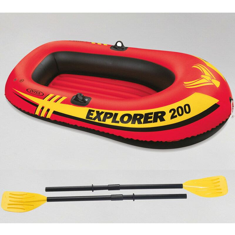 インテックス エクスプローラー 2人用 ゴムボート 200セット #58331