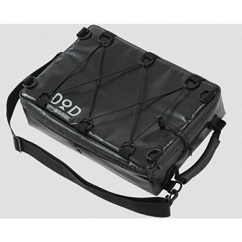 【送料無料】DOD(ディーオーディー) ライダーズクーラーバッグ 7L ブラック CL1-523【あす楽対応】