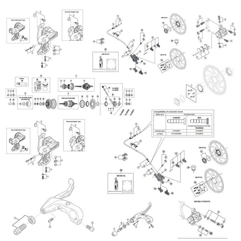 シマノ(SHIMANO/サイクル) EFDR3000X フロントディレイラー 2×9s 34.9(28.6/31.8対応) 21930009