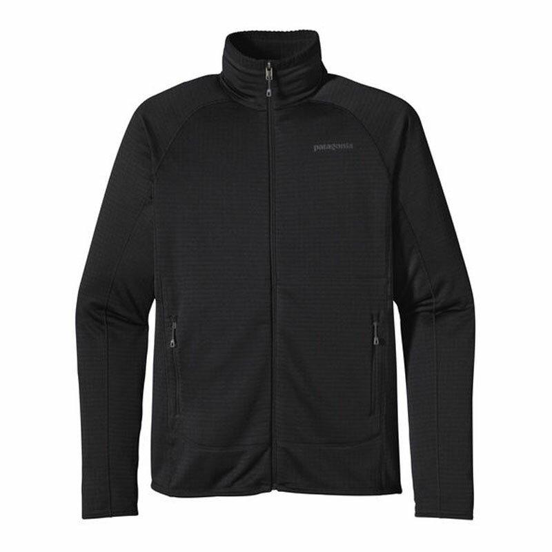 【送料無料】パタゴニア(patagonia) M's R1 Full−Zip Jacket(メンズ R1フルジップ ジャケット) S BLK(Black) 40128【SMTB】