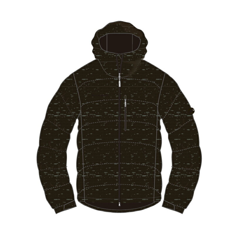 MAMMUT(マムート) SERAC Hoody Melange Down Jacket Men's L 4995(khaki melange) 1013-23081