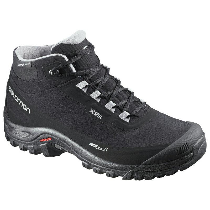 【送料無料】SALOMON(サロモン) FOOTWEAR SHELTER CS WP 28.0cm Black×Black×PTR L37281100【SMTB】