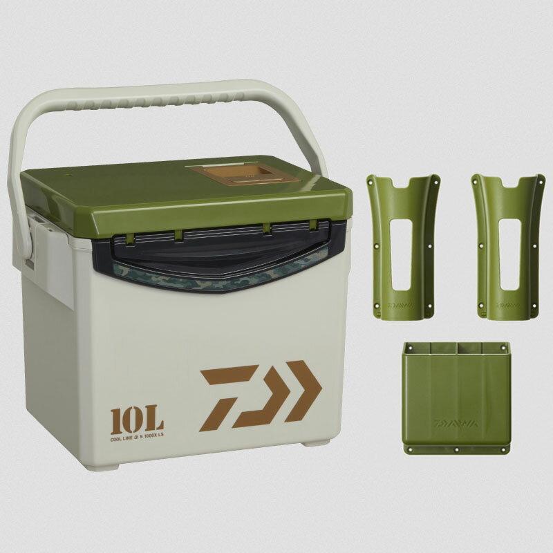 ダイワ(Daiwa) クールラインアルファ S1000X LS 10L グリーン 03300001