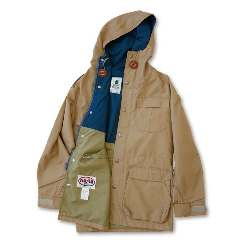 【送料無料】SIERRA DESIGNS(シエラデザインズ) MOUNTAIN PARKA L V.tan×Navy 7910