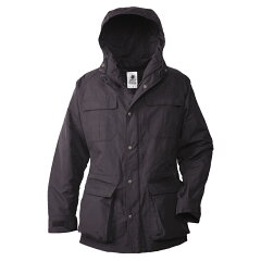 MOUNTAIN PARKA M Black×Black×Blackボタン