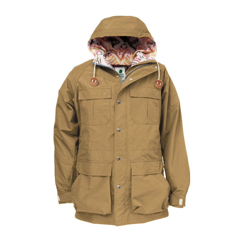 SIERRA DESIGNS(シエラデザインズ) PENDLETON T&E MOUNTAIN PARKA L Tan 7924