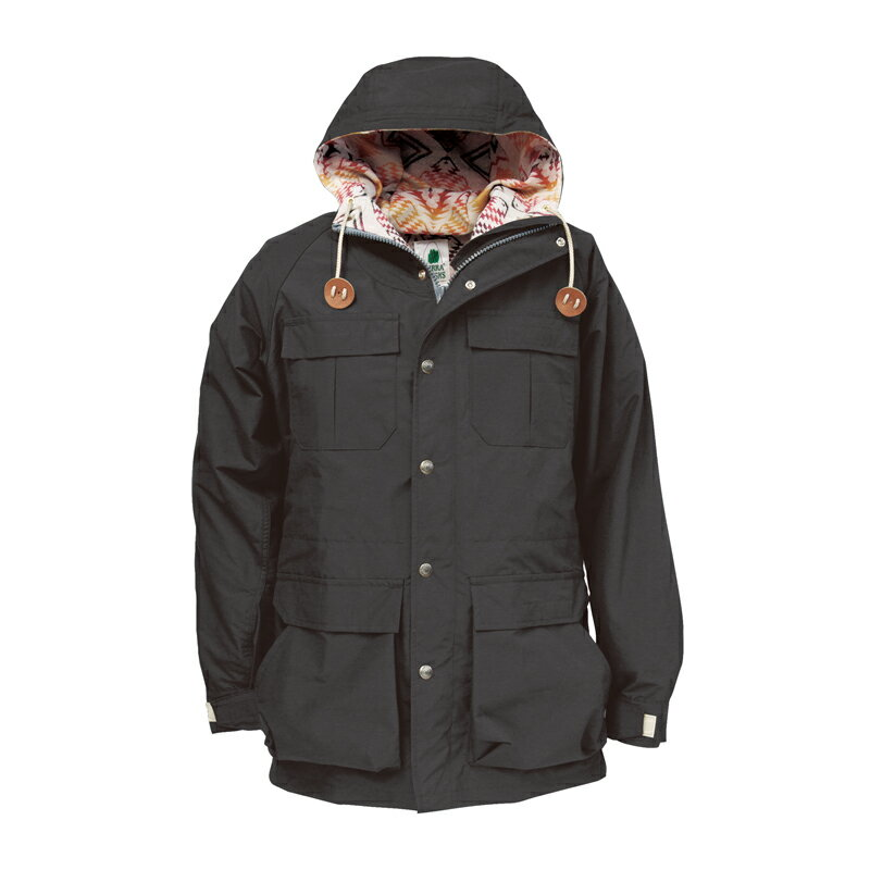 SIERRA DESIGNS(シエラデザインズ) PENDLETON T&E MOUNTAIN PARKA M Black 7924