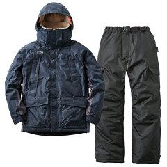 動作快適防水防寒スーツ カーティス L ネイビー
