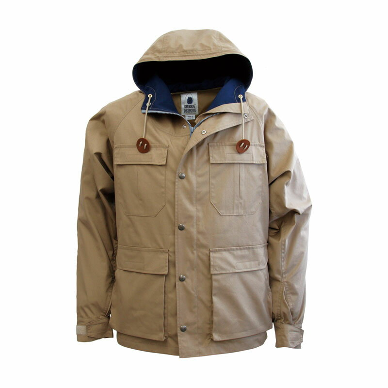 SIERRA DESIGNS(シエラデザインズ) MOUNTAIN TRAIL PARKA L Tan×Midnight 6501