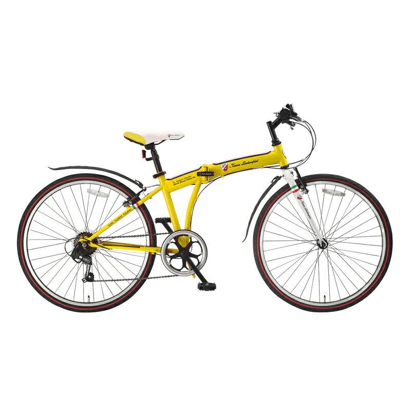 トニーノ・ランボルギーニ HRN LP306 フォールディングバイク【代引不可】 シチリアンイエロー TLG-LP306/YL