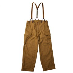 オーバーパンツ Men's M Brown Beige