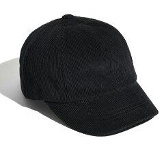 8PANEL CAP CORDUROY フリー BLACK