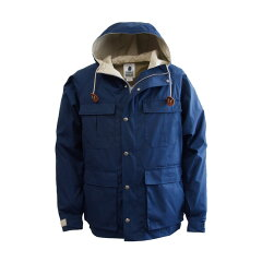 MOUNTAIN TRAIL PARKA S Midnight×Sand