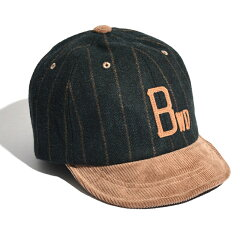 AWESOME BB CAP MELTON MIX フリー GREEN STRIPE