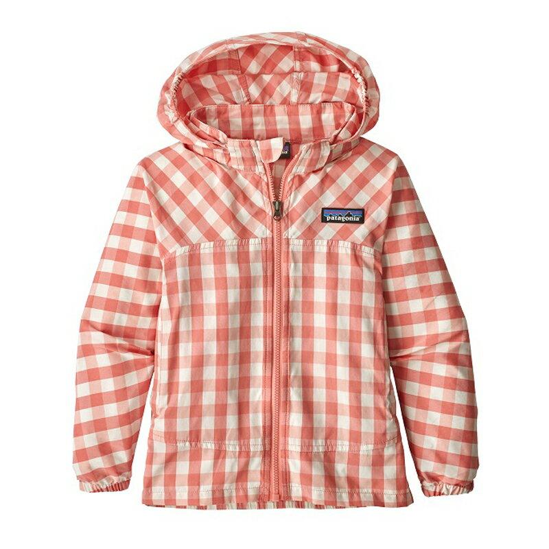 【送料無料】パタゴニア(patagonia) Baby High Sun Jacket(ベビー ハイ サン ジャケット) 5T(5歳) GIPP(Gingham:Peak Pink) 60297【SMTB】