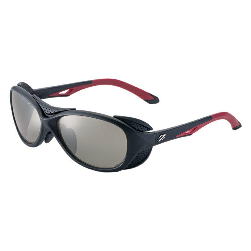 zeal optics(ジールオプティクス) BATLER(バトラー) ブラック×レッド トゥルービュースポーツ×シルバーミラー F-1720