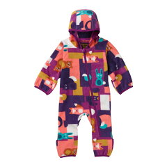 MINISHRED FLEECE ONESIE 12-18M 960(Paper Animals)