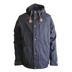 DENIM LIGHT PARKA S Indigo