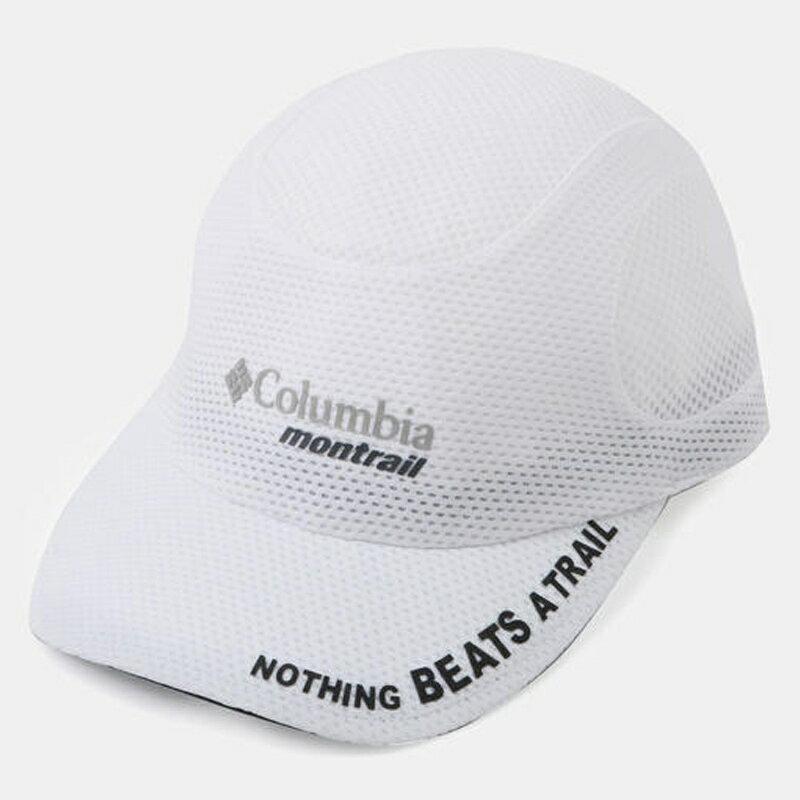 【送料無料】Columbia Montrail(コロンビア モントレイル) ナッシング ビーツ ア トレイル ランニング キャップIII ワンサイズ 100(WHITE) XU0041