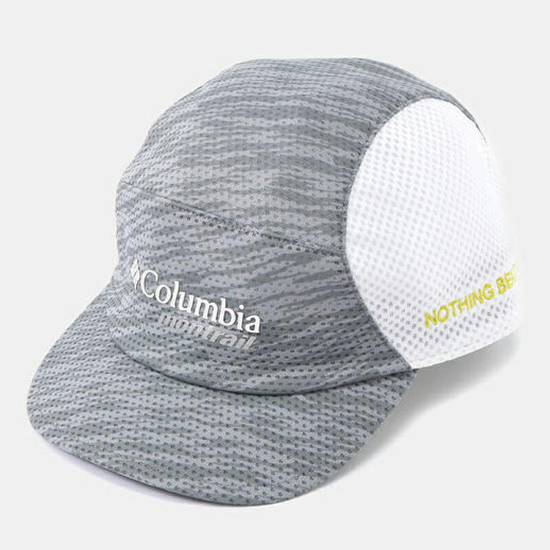 Columbia Montrail(コロンビア モントレイル) ナッシング ビーツ ア トレイルランニング キャップ III ライト ワンサイズ 060(Light Grey) XU0042
