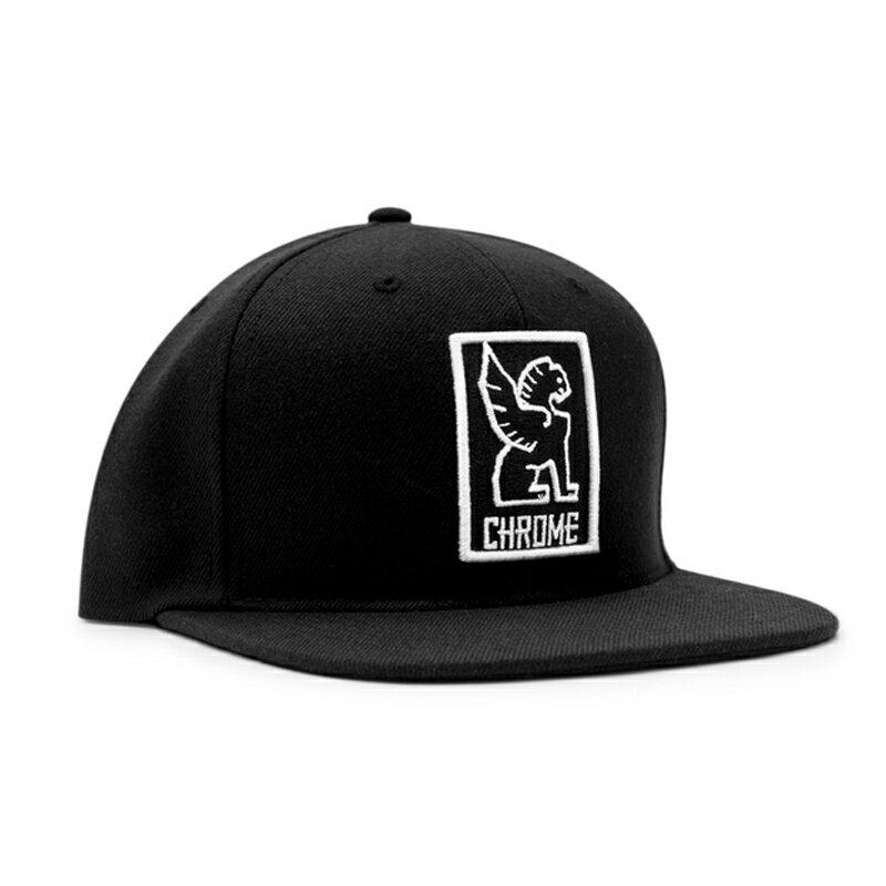 CHROME(クローム) SNAPBACK CAP フリー BLACK×WHITE AP138【あす楽対応】
