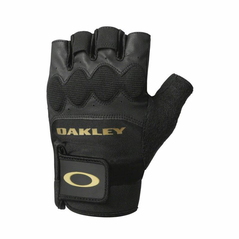 OAKLEY(オークリー) HALF FINGER GLOVE 4.0 L 061 BLACK/GOLD 94294JP-061