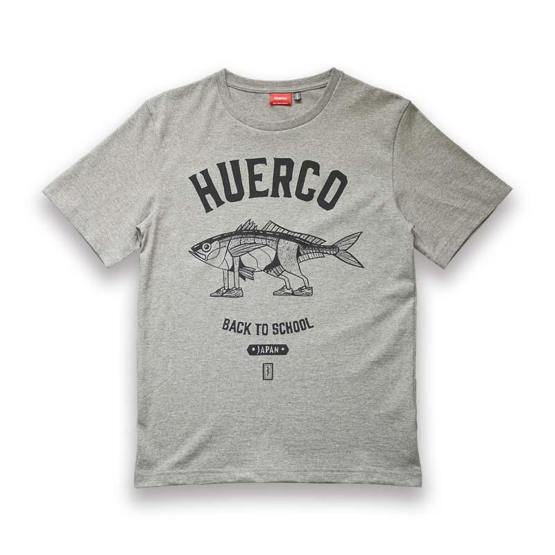 フエルコ(Huerco) アジウォーカーTシャツ L ヘザーグレー 110499